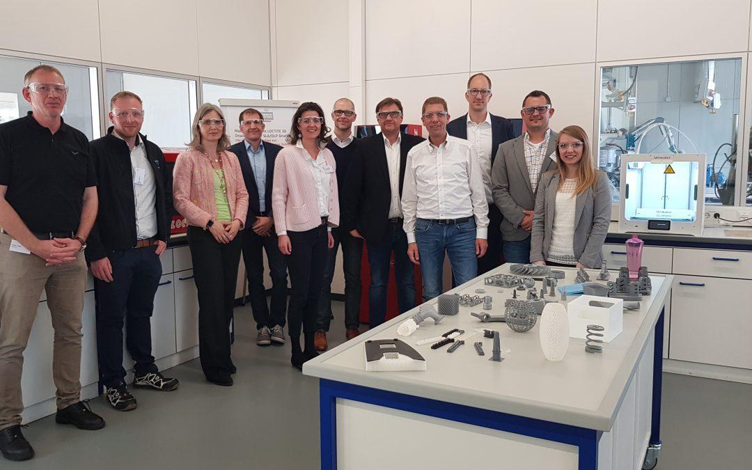 Mitgliedertreffen und Besichtigung des 3D-Druck Centers